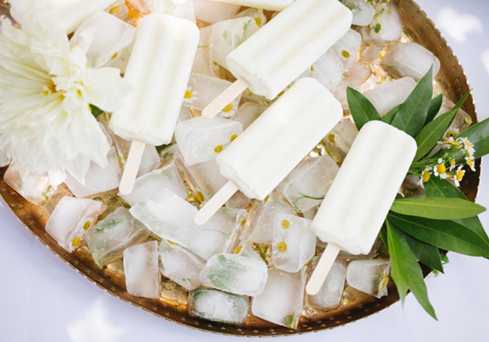 White popsicles