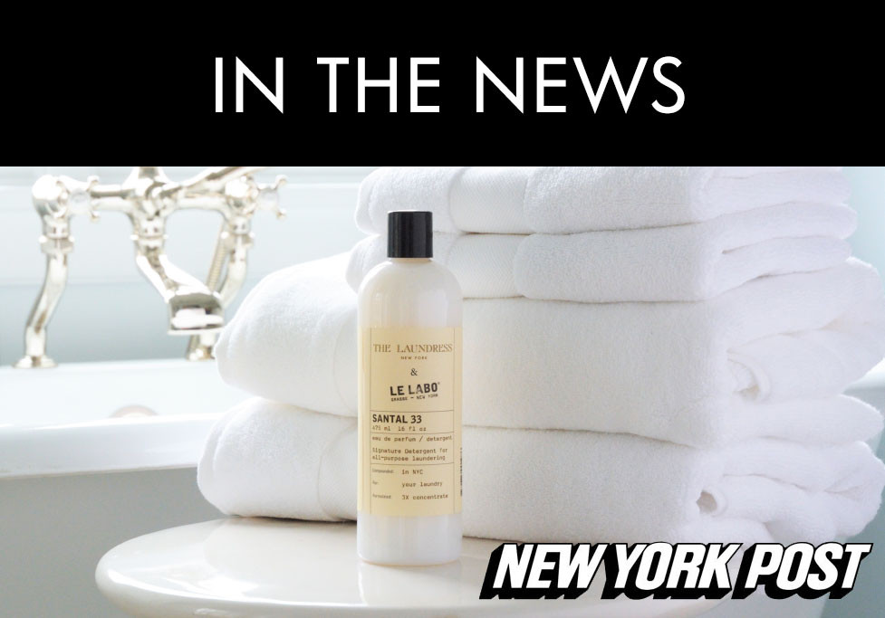 "laundress le labo ""santal 33"" laundry detergent, the product we can't resist"