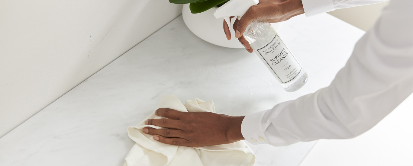 how to clean every type of counter