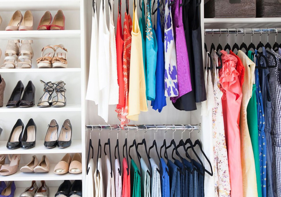 optimize your closet with the neat method