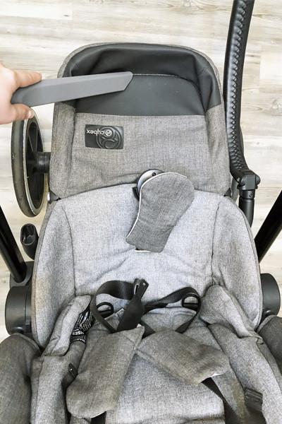 vacuuming stroller