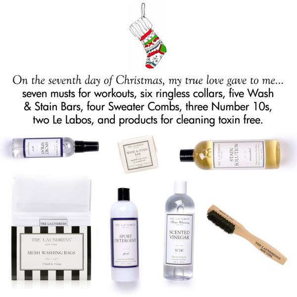 CMSPage The Laundress Twelve Days of Christmas ONE SIZE IMAGE 01