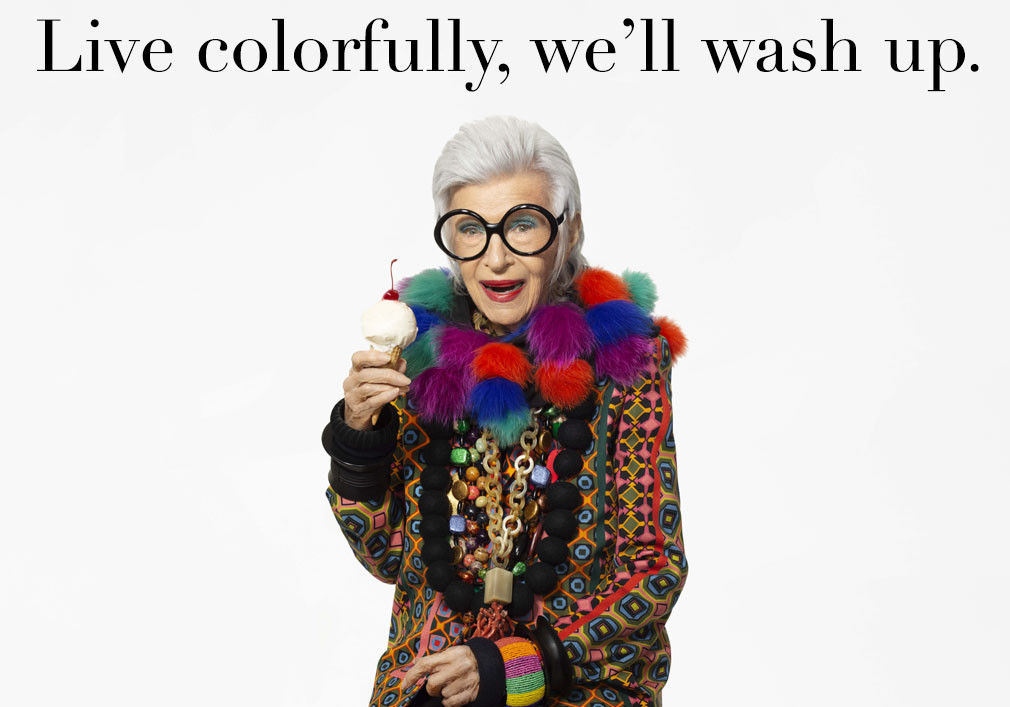 Live colorfully we'll wash up read more
