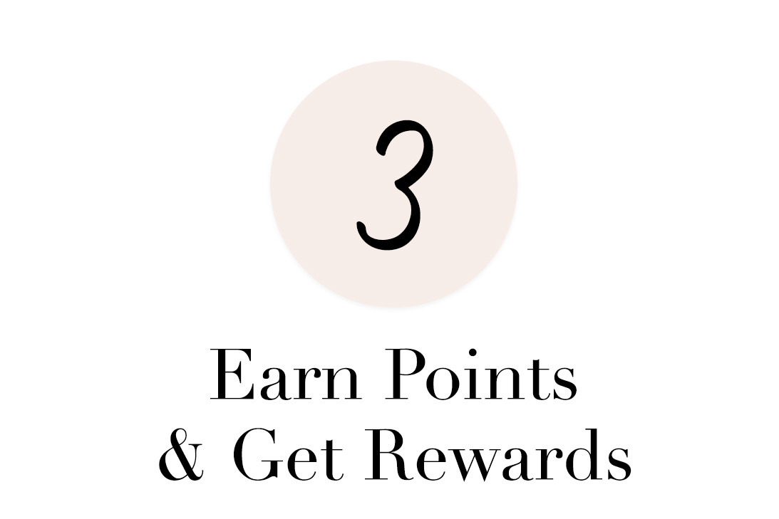 earn points and get rewards