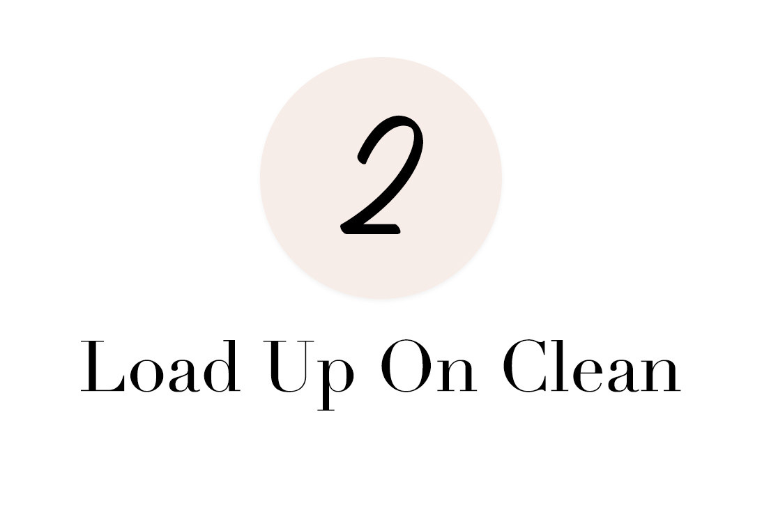 load up on clean