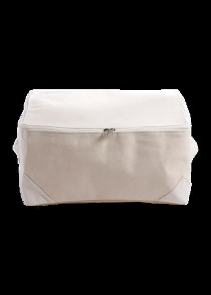 Canvas Medium Zip Storage Bag