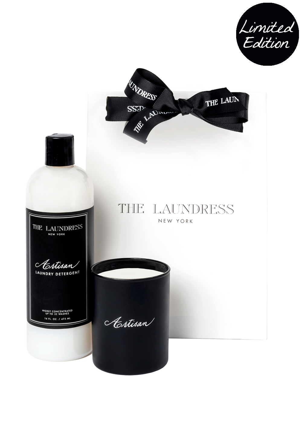 Artisan Laundry Detergent & Candle Gift Set by the Laundress