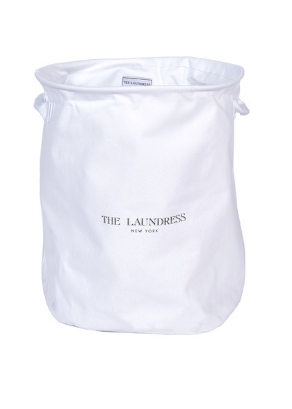 collapsible hamper white