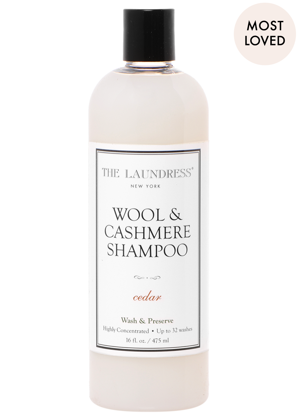 Wool & Cashmere Shampoo by the Laundress