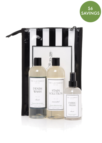 Denim Gift Bag- Denim Wash, Stain Solution, 2oz Fabric Fresh Classic