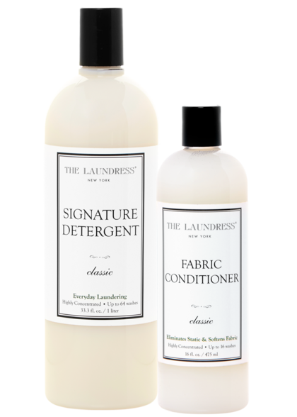 signature detergent and fabric conditioner duo